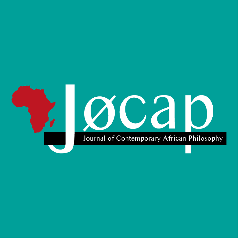 Journal of Contemporary African Philosophy