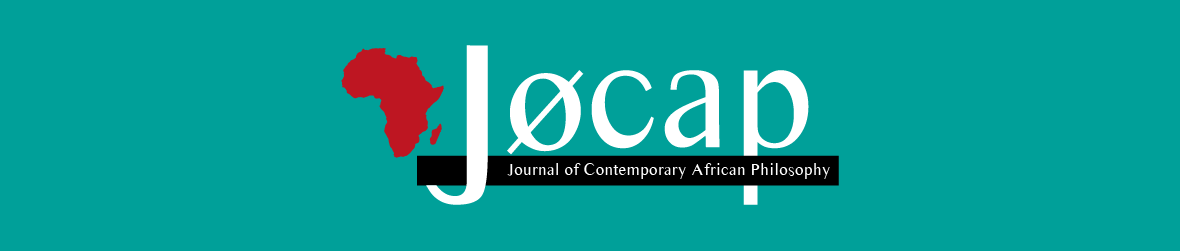 Academic Journal of Contemporary African Philosophy