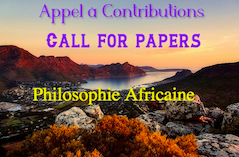 Call for Papers - African Philosophy